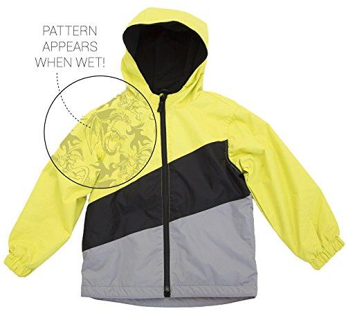 Therm Boys Magic Pattern Rain Jacket, Rain Jackets For Boys