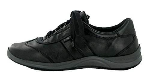 Mephisto Womens Lace - Mephisto Women's Laser Lace-up Shoes, Black Smooth, Size - 9