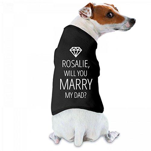 Rosalie, Will You Marry My Dad?: Doggie Skins Dog Tank - Rosalie Tee