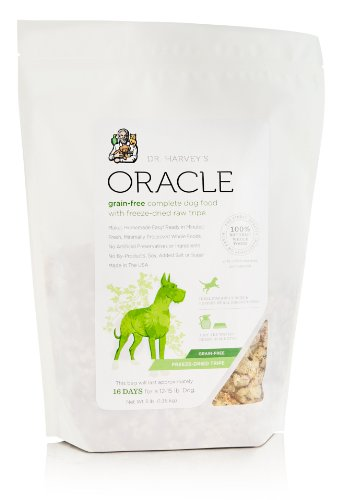 Dr. Harvey's Oracle Freeze Dried Raw Complete Diet for Dogs in Grain Free Tripe Bag, 3-Pound