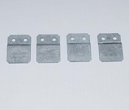 CLIPS 4-er-Set Sitzbank-Halter für Gabione
