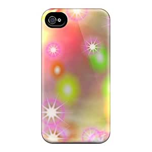 Hot Style IXc1664cTEY Protective Case Cover For Iphone4/4s(stars)