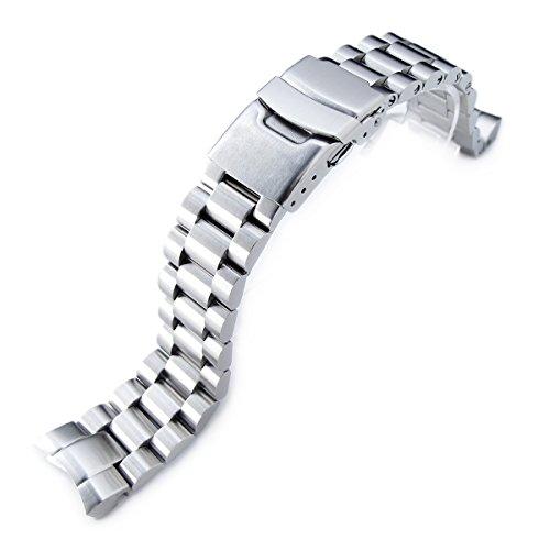 - 20mm Endmill watch bracelet for SEIKO Sumo SBDC001 SBDC003 SBDC005 SBDC031 SBDC033