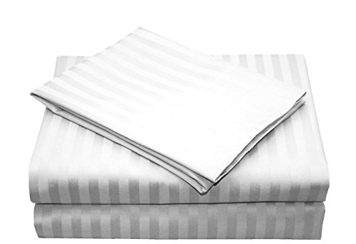 AMRICH provides you White Colored, Striped Patterned, Queen