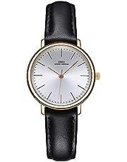 IBSO Ladies Watches Leather Band Wrist Watch Round Case Fashion Women Watches Waterproof