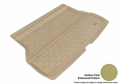 (3D MAXpider Custom Fit All-Weather Cargo Liner for Select Acura RDX Models - Kagu Rubber (Tan))