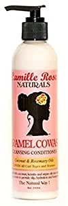 Camille Rose Naturals Caramel Cowash Cleansing Conditioner, 8 Ounce