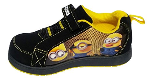 Despicable Me Minion Kids Athletic Shoe (Toddler/Little Kid) (10 M US Toddler) (Despicable Me Shoes)