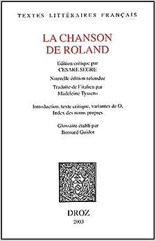La Chanson De Roland (Textes Litteraires Francais)