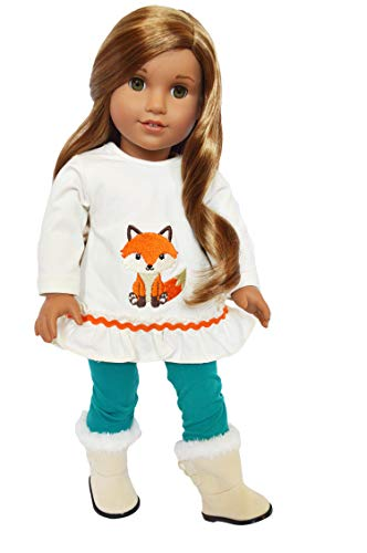 Brittany's Fall Fox Outfit Fits 18 Inch Dolls- 18 Inch Doll Clothes-Compatible with American Girl Dolls ()