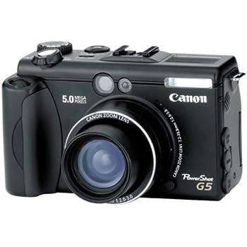 Canon PowerShot G5 5MP Digital Camera w/ 4x Optical Zoom