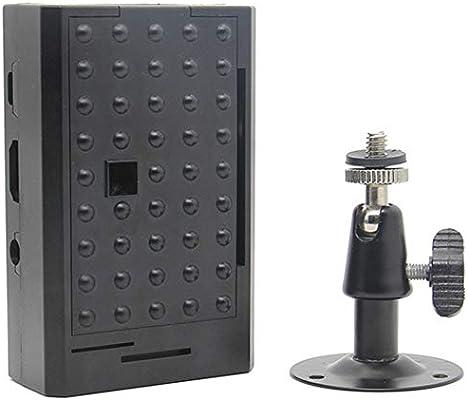 ACAMPTAR para la Cubierta de la Caja Raspberry Pi Abs Caja Protectora para Raspberry Pi 3 Modelo B Plus/Pi 3B con Soporte para Cámara: Amazon.es: Electrónica