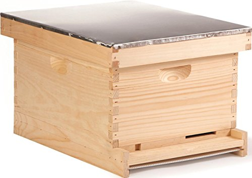 Little Giant Farm & Ag HIVE10 Complete Hive, Natural