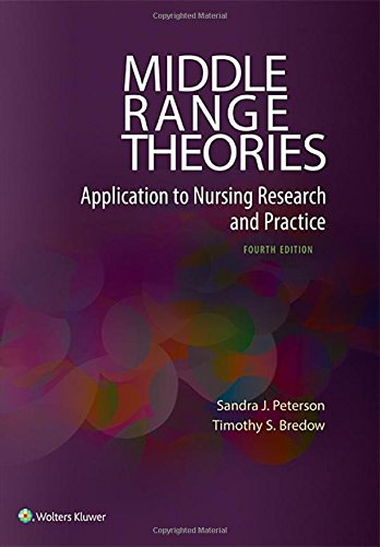 Middle Range Theories: Application to Nursing Research and Practice (Application Of Middle Range Nursing Theories To Practice)