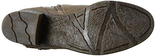 s.Oliver Damen 25340 Langschaftstiefel Braun (Cigar Comb 347)