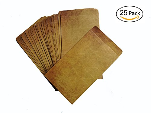 Brown Vintage Kraft Paper Envelopes,4.72 x 7.9 Inches,Pack of - Sunnies Designer Cheap