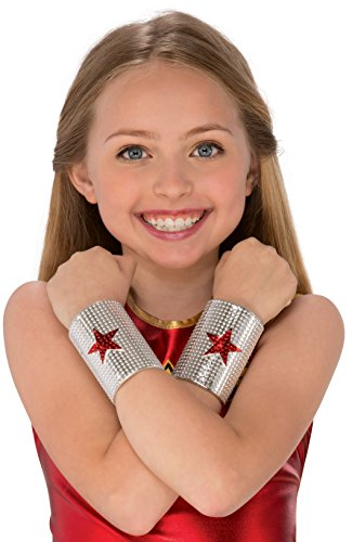 Rubie's Costume Wonder Woman Child's Gauntlets Costume Accessory