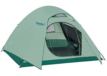 Eureka! Tetragon 9 - Tent (sleeps 4-5)  sc 1 st  Amazon.com & Amazon.com : Eureka! Tetragon 9 - Tent (sleeps 4-5) : Sports ...