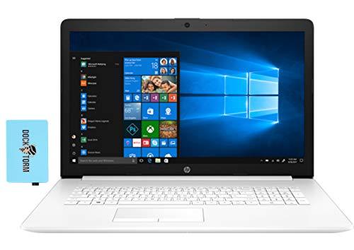 HP 17t by 11th Gen Home and Business Laptop (Intel i7-1165G7 4-Core, 8GB RAM, 2TB HDD, Intel Iris Xe, 17.3″ HD+ (1600×900), WiFi, Bluetooth, Webcam, 2xUSB 3.1, 1xHDMI, SD Card, Win 10 Pro) with Hub