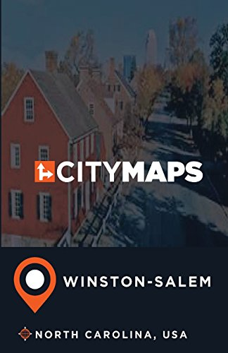 Winston Salem North Carolina Map (City Maps Winston-Salem North Carolina, USA)