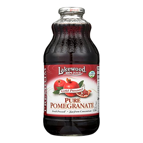 Lakewood Pure Pomegranate Juice - Pomegranate - Case of 12 - 32 Fl - Stores Lakewood