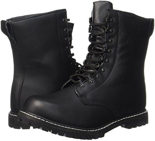 Mil-Tec - Zapatos de caza para hombre negro negro