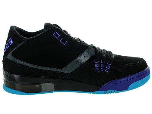 Jordan Nike Herren Flight23 Basketballschuh Schwarz / Anthrazit / Bright Concord / Blaue Lagune