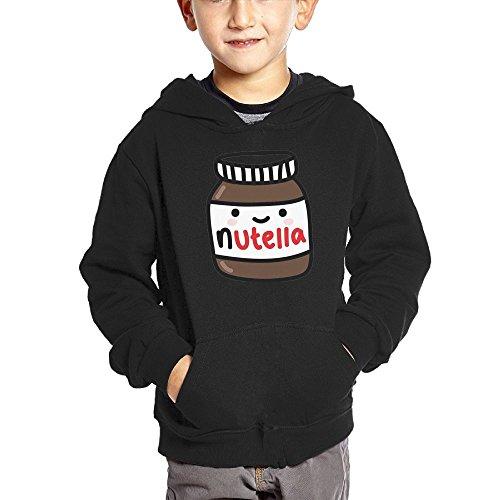 Crali Ruby Fondos Tumblr Nutella Children's Fashion Pullover Hoodie Sweatshirt With Pocket