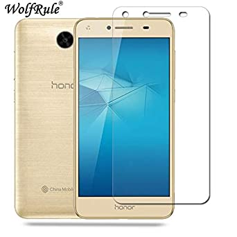 Amazon com: WolfRule 2PCS Glass Huawei Y5 II Screen Tempered Glass