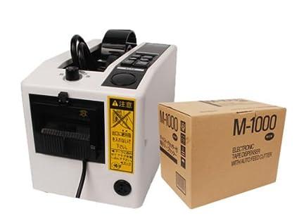 Mingpinhui M-1000 - Dispensador de cinta de embalaje manual y automático, 170 mm, 18 W: Amazon.es: Industria, empresas y ciencia