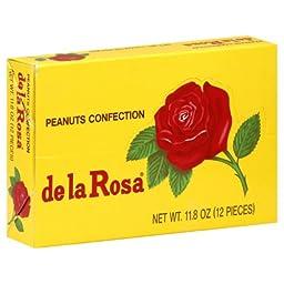 De La Rosa Marzipan, Small Box, 12 1-Ounce Pieces (12 Ounces Total)