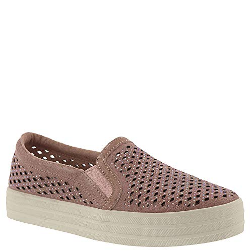 (Skechers Womens Double Up - Diamond Girl Light Pink Sneaker - 8.5)