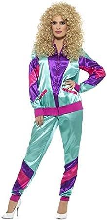 Smiffys Disfraz de años 80 Deportista para Mujer: Amazon.es ...