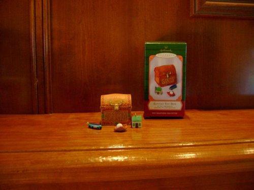 Keepsake Ornament Hallmark 2001 Santa's Toy Box