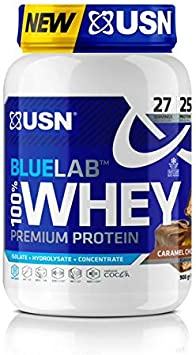 USN Blau Labor 100% Prima Chocolate Caramelo Suero Proteína Polvo 910 g