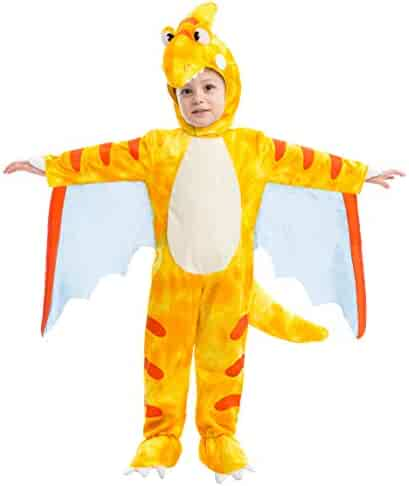 1e842bb1d Spooktacular Creations Pterodactyl Dinosaur Costume Prehistoric Kid and  Toddler Deluxe Set for Halloween Dress Up Party