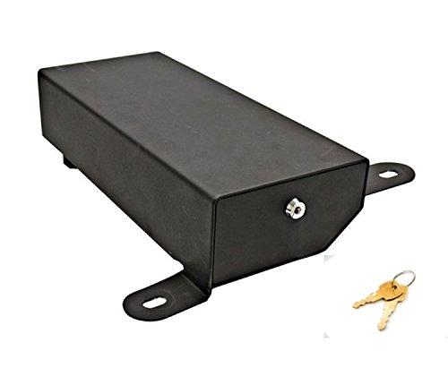 Bestop 42641-01 - Caja de seguridad debajo del asiento, bajo el asiento, lado del pasajero, Negro
