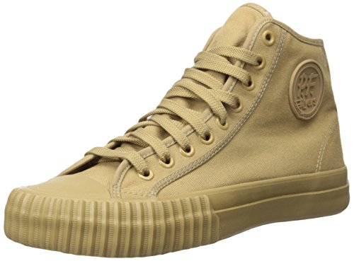 Pf Flyers Mens Stagionale Centro Hi Fashion Sneaker Semi Di Lino