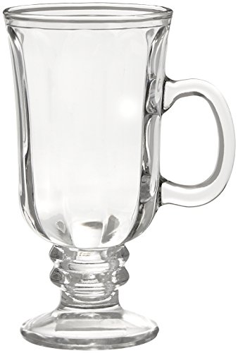 Style Setter Optic Irish Coffee Mugs (Set of 4), Clear by Style Setter