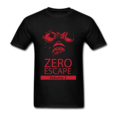 Men's Zero Time Dilemma Cotton DIY T Shirt