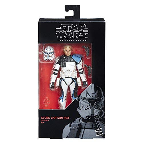 Star Wars E0623 The Black Series Clone Captain Rex Figure -