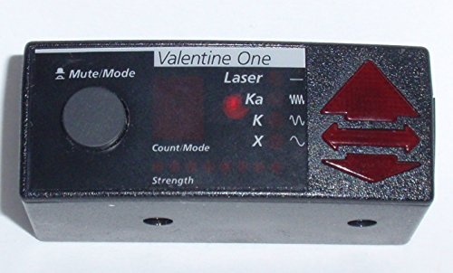 Valentine Concealed Display Radar Detector product image
