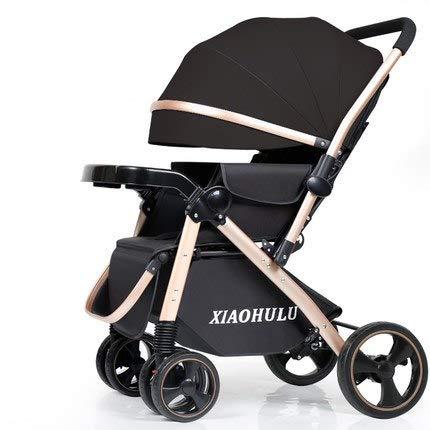zhengshi Cochecito de bebé Puede Sentarse reclinable ...