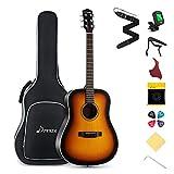 Donner Beginner Acoustic Guitar Full