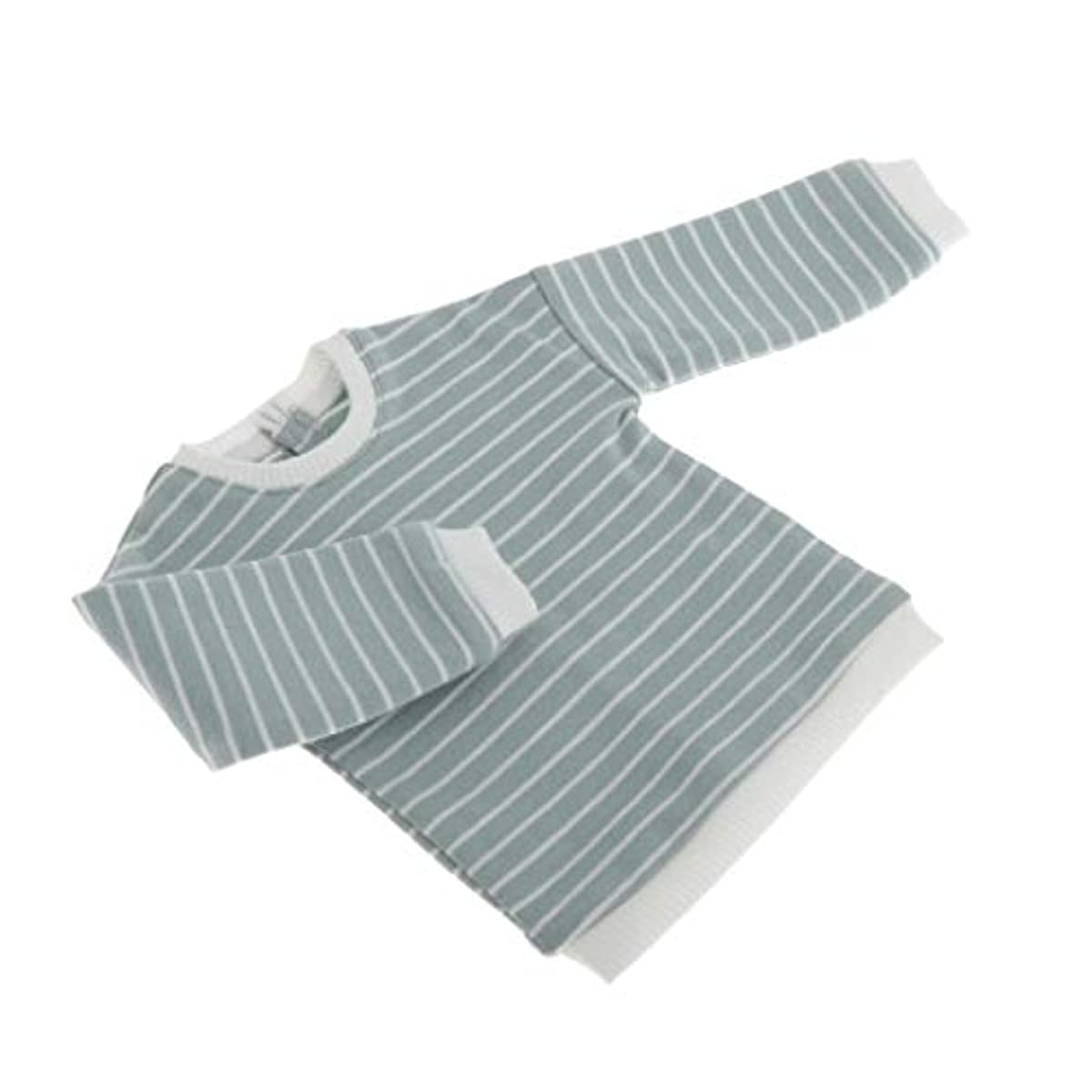 [해외] DYNWAVE 미니 스트라이프 스웨터  (pullover)풀오버 1/4스케일 큐빅스톤복 BJD인형 블라이스 인형용그린