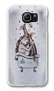 Bath Burn Out Custom Samsung Galaxy S6/Samsung S6 Case Cover Polycarbonate Transparent