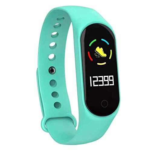 Libison Smart Band, Activity Tracker IP67 Waterproof Sport Fitness 0.96 inch TFT IPS Color Screen Tracking Multi-sensors Mobile Alerts Pedometer Sleep Monitor Bluetooth Smartwatch (Green)