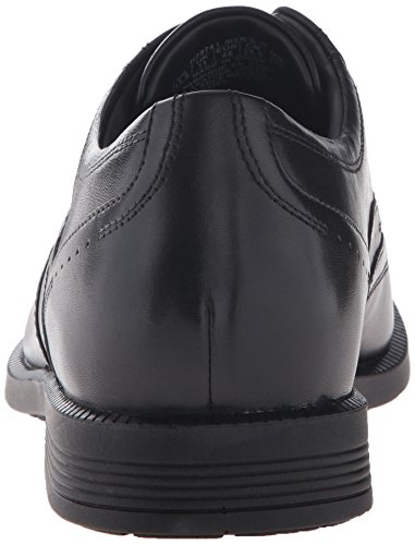 Rockport Hombres Affari Oxford Ali Leder Nero