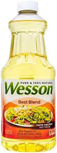Cooking Oils: Wesson Pure Best Blend