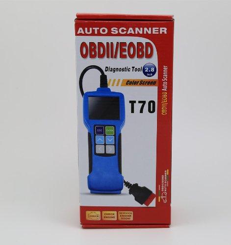 Autek Professional 2.8'' Color Screen T70 Auto Diagnostic Code Reader Scanner EOBD OBD2 by Autek (Image #5)